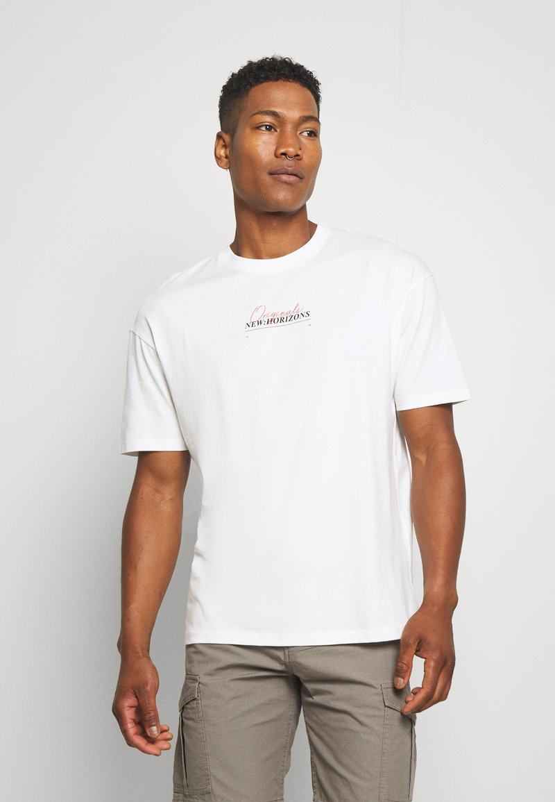 Jack & Jones - JORCASABLANCA - Print T-shirt - white