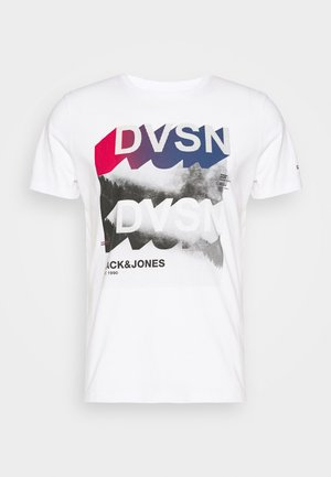 JCOBREAK TEE CREW NECK - Print T-shirt - white