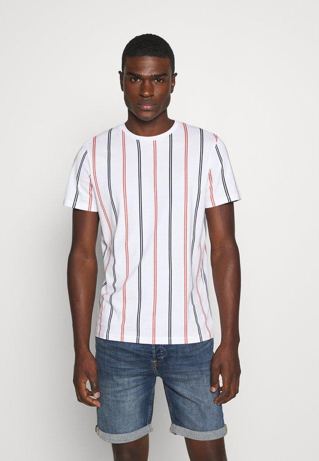 JORJERRY TEE CREW NECK  - T-shirts print - white
