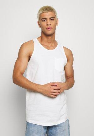JORHUGO RAW TANK - Top - white