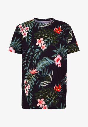 JORJUNON TEE CREW NECK  - T-shirt print - navy blazer