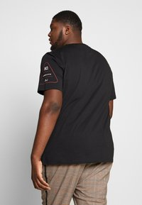 Jack & Jones - JCOLET TEE CREW NECK - Print T-shirt - black - 2