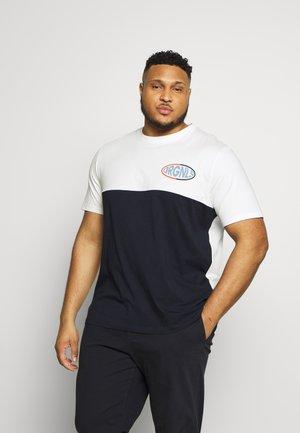 JOROVAL TEE CREW NECK - T-shirt con stampa - cloud dancer