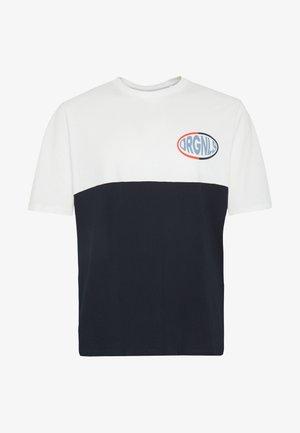 JOROVAL TEE CREW NECK - Print T-shirt - cloud dancer