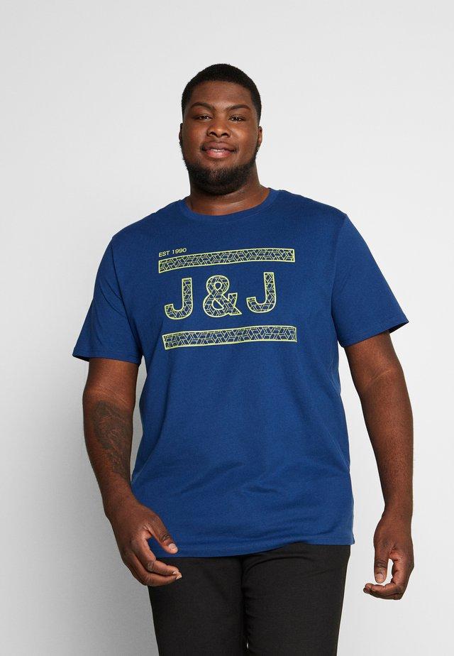 JCOCOMPLETE TEE CREW NECK - Print T-shirt - navy peony