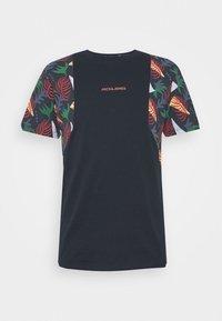 Jack & Jones - JORGRAHAM TEE  - Camiseta estampada - navy blazer - 0