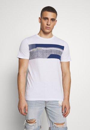 JCOMONACO TEE CREW NECK - T-shirt z nadrukiem - white