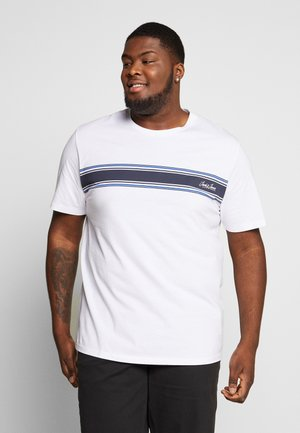 JORTRAFFIC TEE CREW NECK - Printtipaita - white