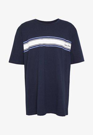 JORTRAFFIC TEE CREW NECK - Triko spotiskem - navy blazer