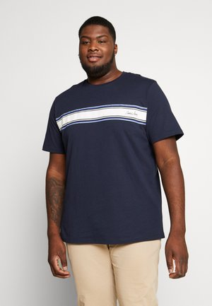 JORTRAFFIC TEE CREW NECK - Print T-shirt - navy blazer