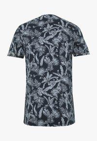 Jack & Jones - JORELRON ORGANIC - T-shirt imprimé - navy - 1