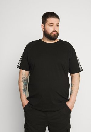 JCOGUNNER TEE CREW NECK - Print T-shirt - black