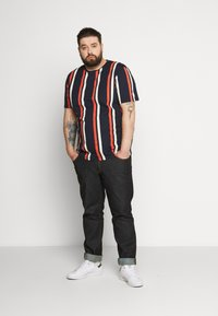 Jack & Jones - JORJERRY TEE CREW NECK  - Print T-shirt - navy blazer - 1