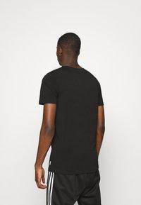 Jack & Jones - JCOSOUL TEE CREW NECK  - T-shirt print - black - 2