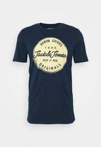 Jack & Jones - JORTORINO TEE CREW NECK - T-shirt print - navy blazer - 4