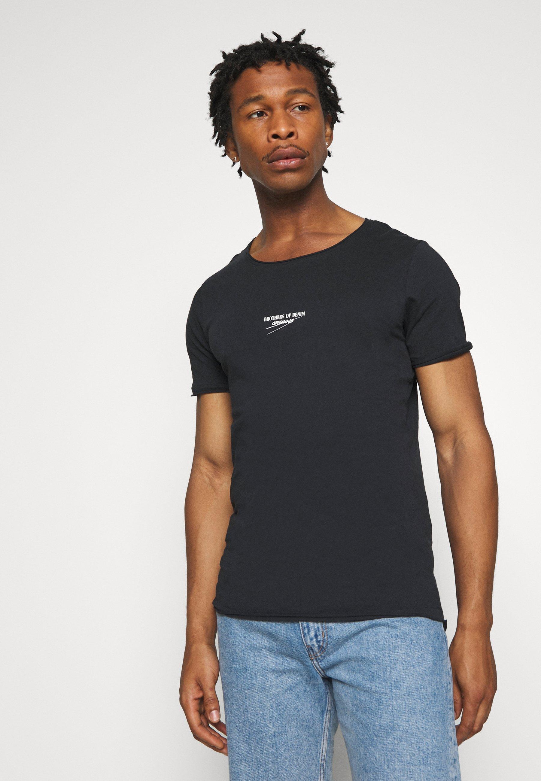 Große Förderung Jack & Jones JORSIMON TEE CREW NECK  - T-Shirt print - tap shoe   Damenbekleidung 2020