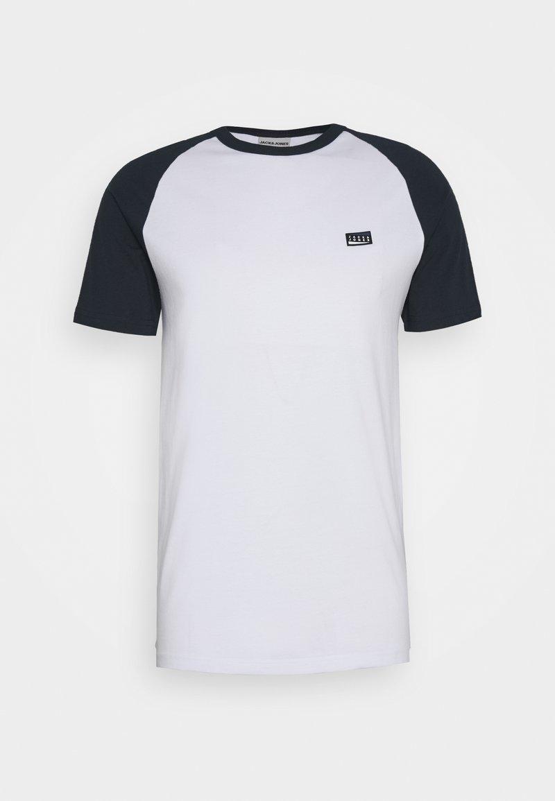 Jack & Jones - JCOBORIS - T-shirt print - white