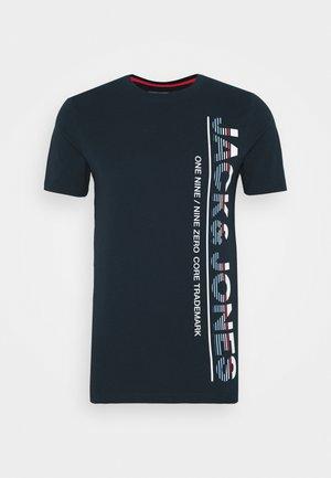 JCOSTRUCTURE TEE CREW NECK - T-shirt print - sky captain