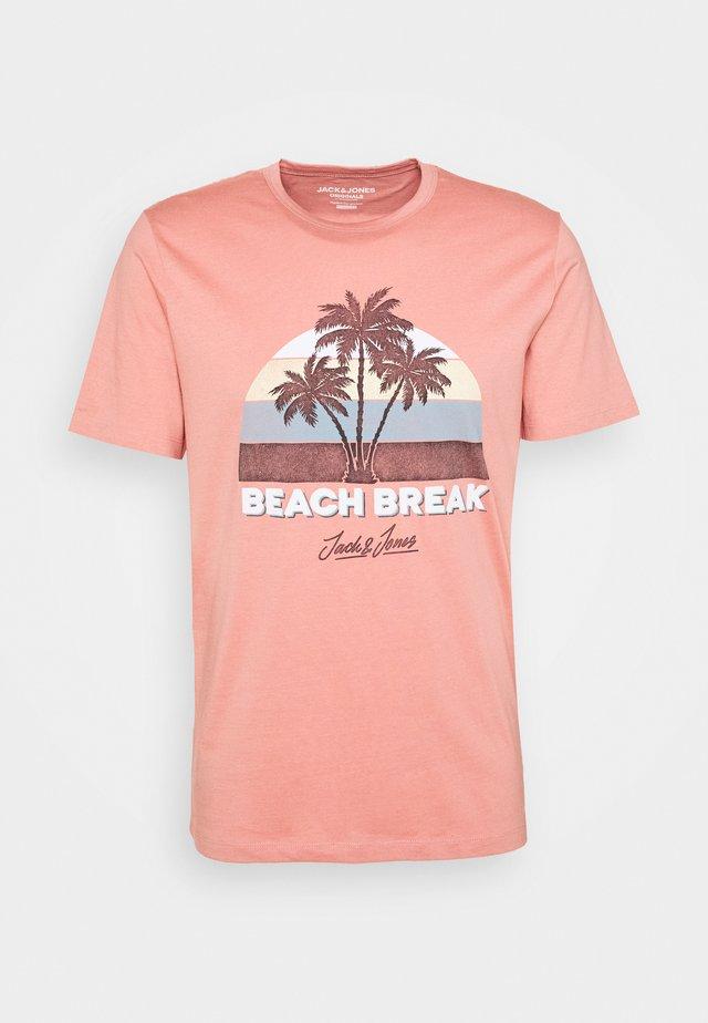 JORAIDENS TEE CREW  NECK - T-shirt con stampa - rosette