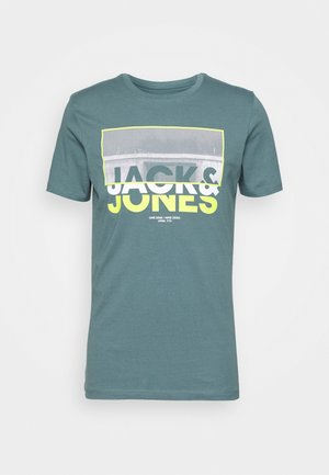 JCOTUNEL TEE SS CREW NECK - T-shirt print - north atlantic