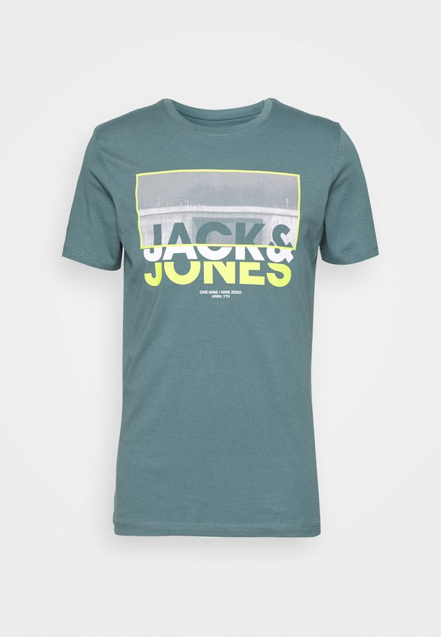 JCOTUNEL TEE SS CREW NECK - T-shirt imprimé - north atlantic