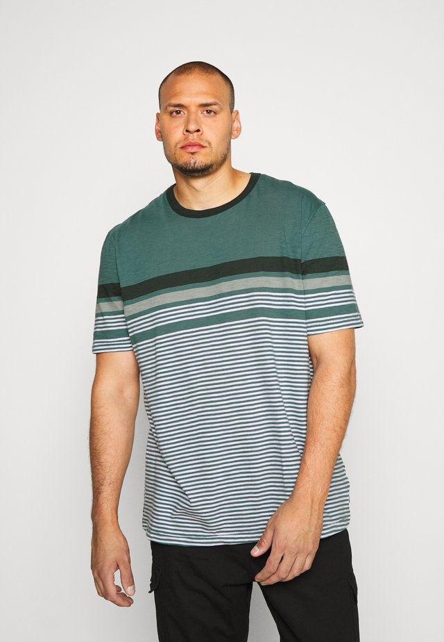 JCOBLUE TEE CREW NECK - Print T-shirt - north atlantic