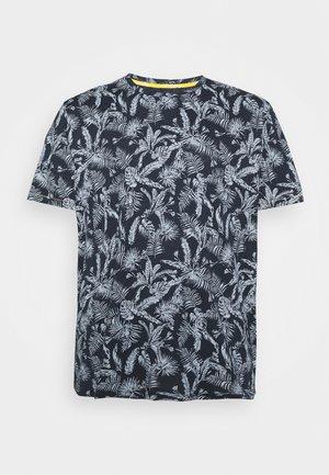 JORELRON TEE CREW NECK - T-shirt med print - navy blazer