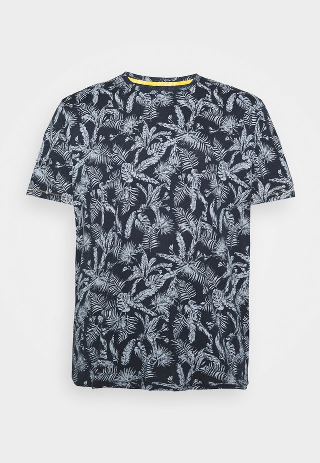JORELRON TEE CREW NECK - Triko spotiskem - navy blazer