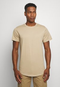 Jack & Jones - JJENOA TEE CREW NECK 5 PACK - T-shirts - crockery/ombr/hawaiia/fade/dusty - 5