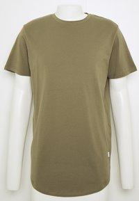 Jack & Jones - JJENOA TEE CREW NECK 5 PACK - T-shirts - crockery/ombr/hawaiia/fade/dusty - 9