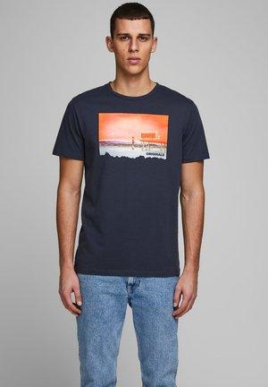 STATEMENTPRINT - T-Shirt print - navy