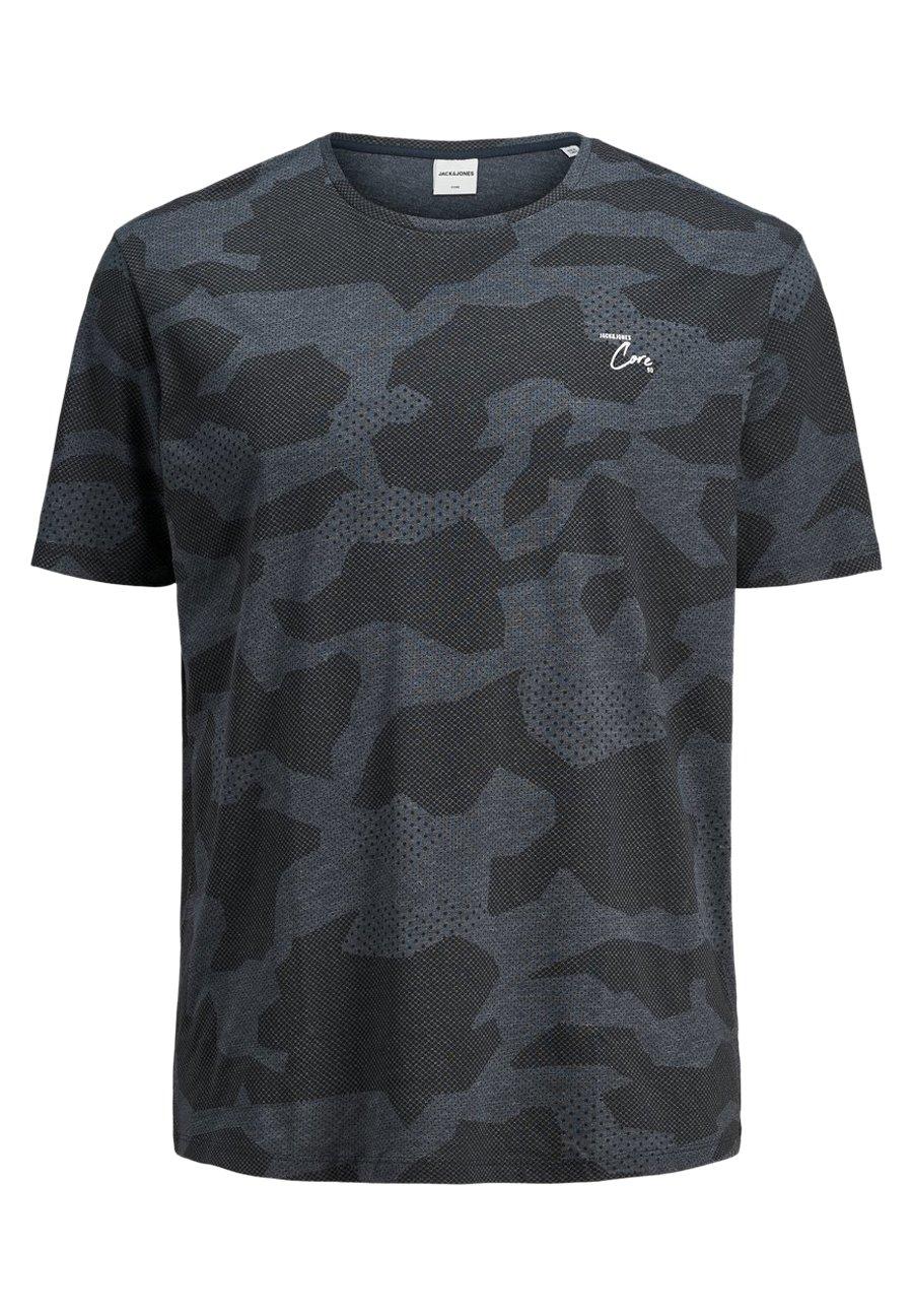 Jack & Jones JACK & JONES PLUS SIZE T-SHIRT CAMOPRINT- - T-shirt z nadrukiem - sky captain