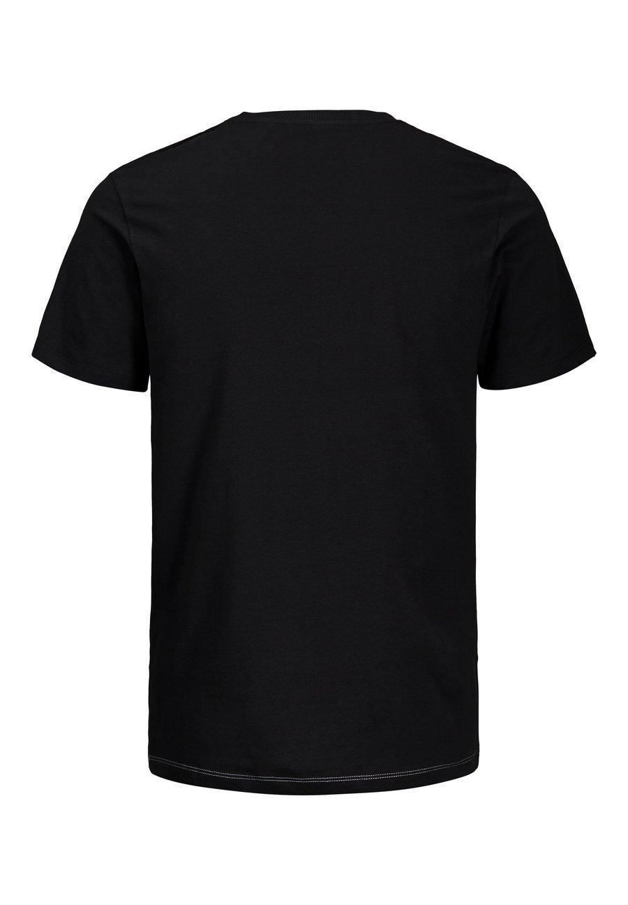 Jack & Jones T-SHIRT PRINT - T-shirt z nadrukiem - light grey melange