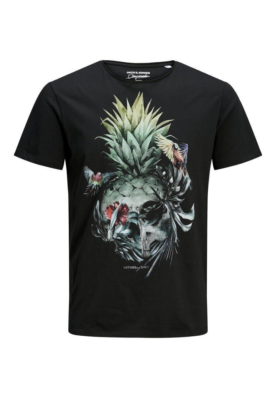 Jack & Jones ISLAND - T-shirt z nadrukiem - tap shoe