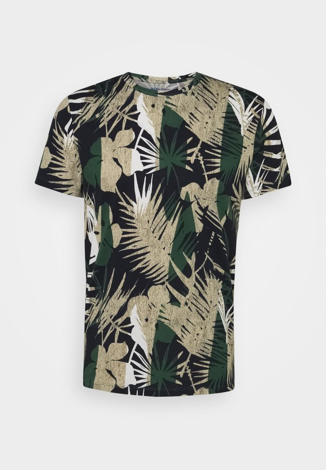 JORNIKO  - Print T-shirt - dark green