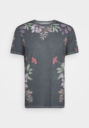 JORDANIEL TEE CREW NECK - T-shirt imprimé - dark blue