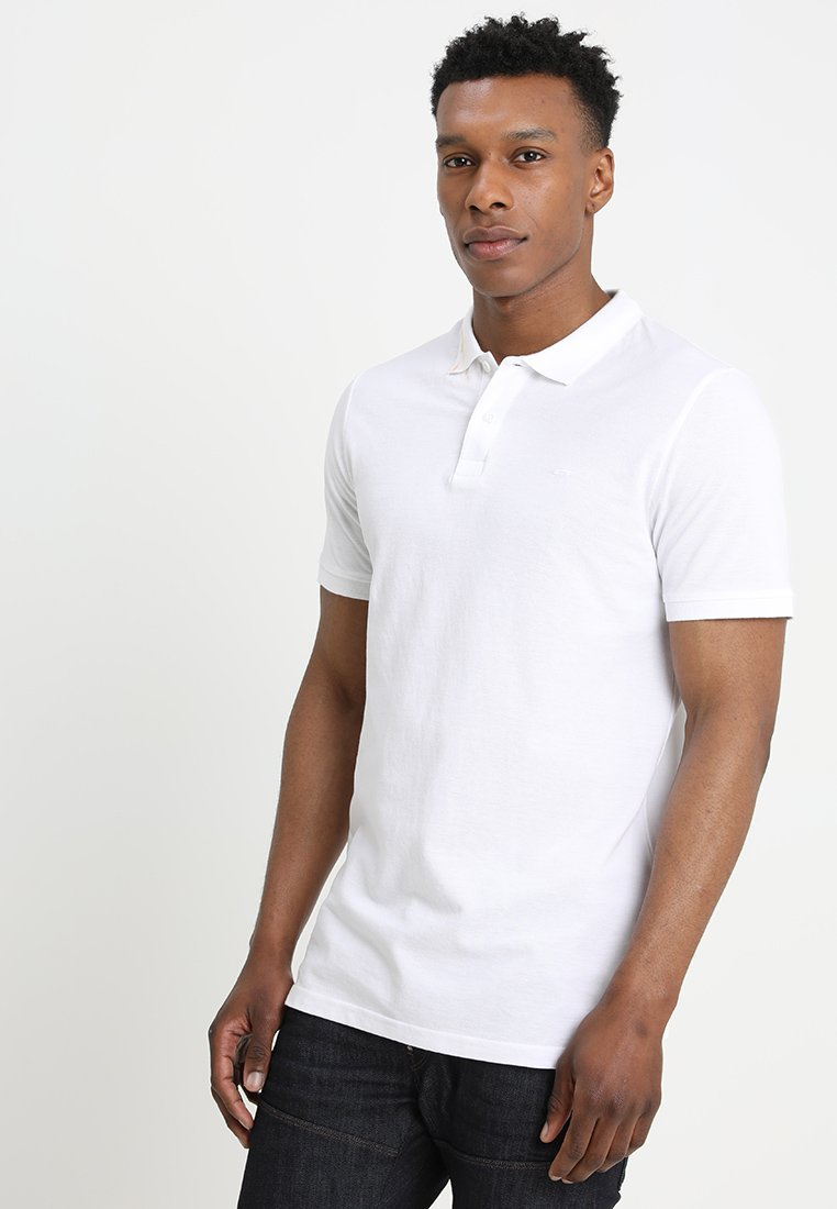 Jack & Jones - JJEBASIC - Polo - white
