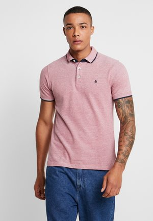 JJEPAULOS NOOS - Polo shirt - brick red