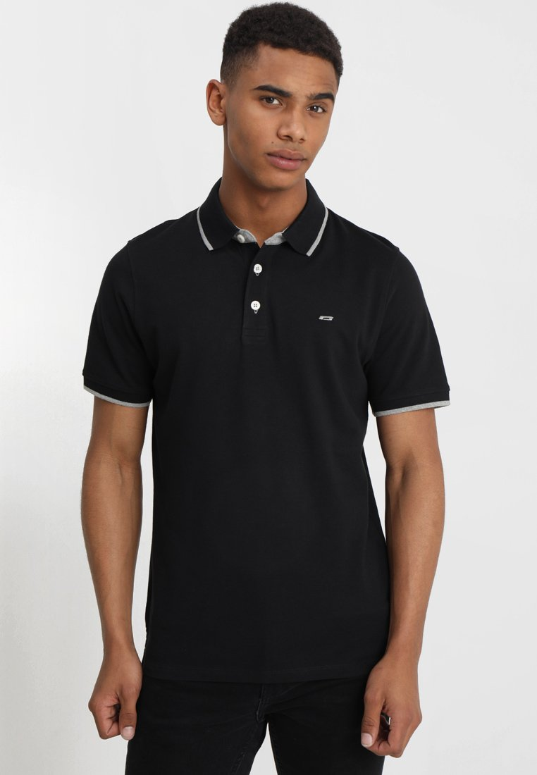 Jack & Jones - JJEPAULOS NOOS - Polo shirt - black