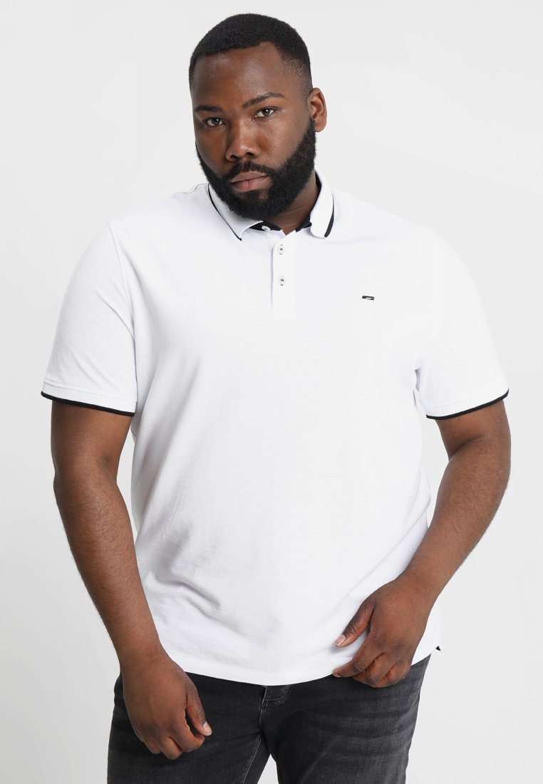 Jack & Jones Jjepaulos Plus - Piké White