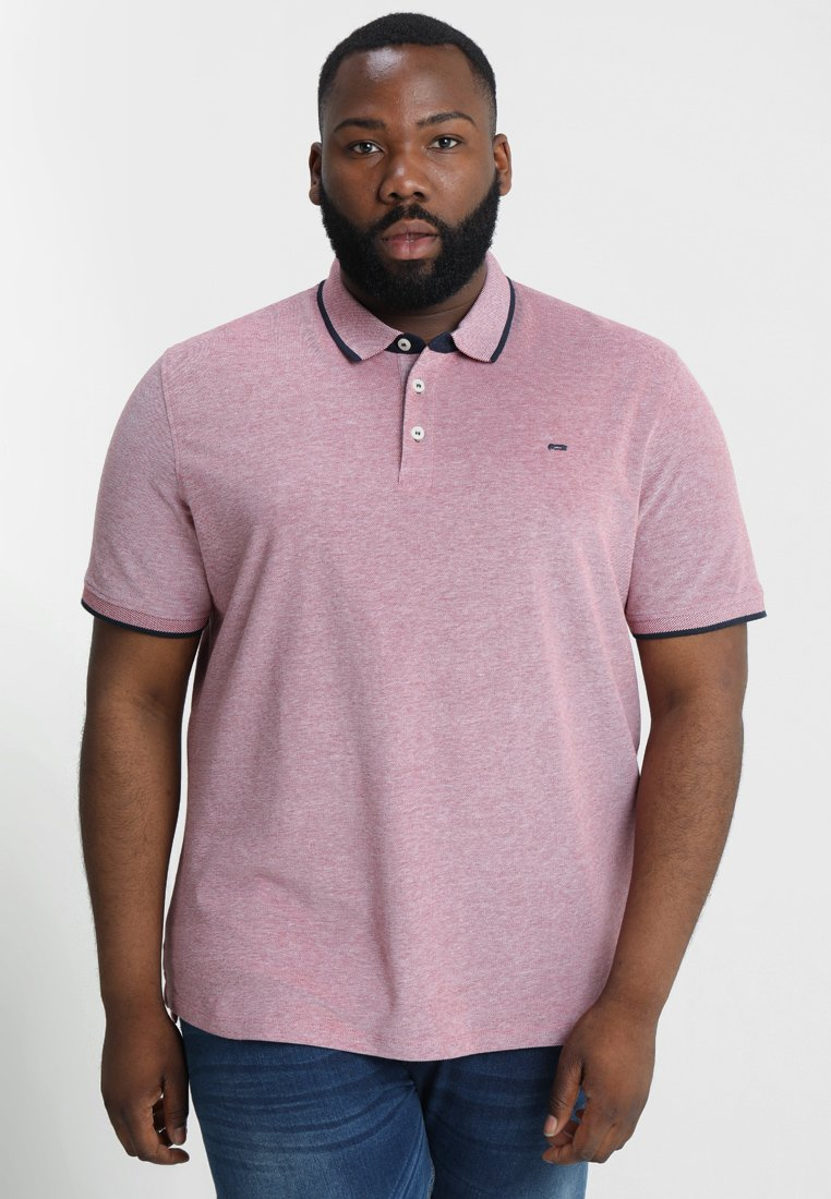 Jack & Jones - JJEPAULOS PLUS - Poloshirt - brick red