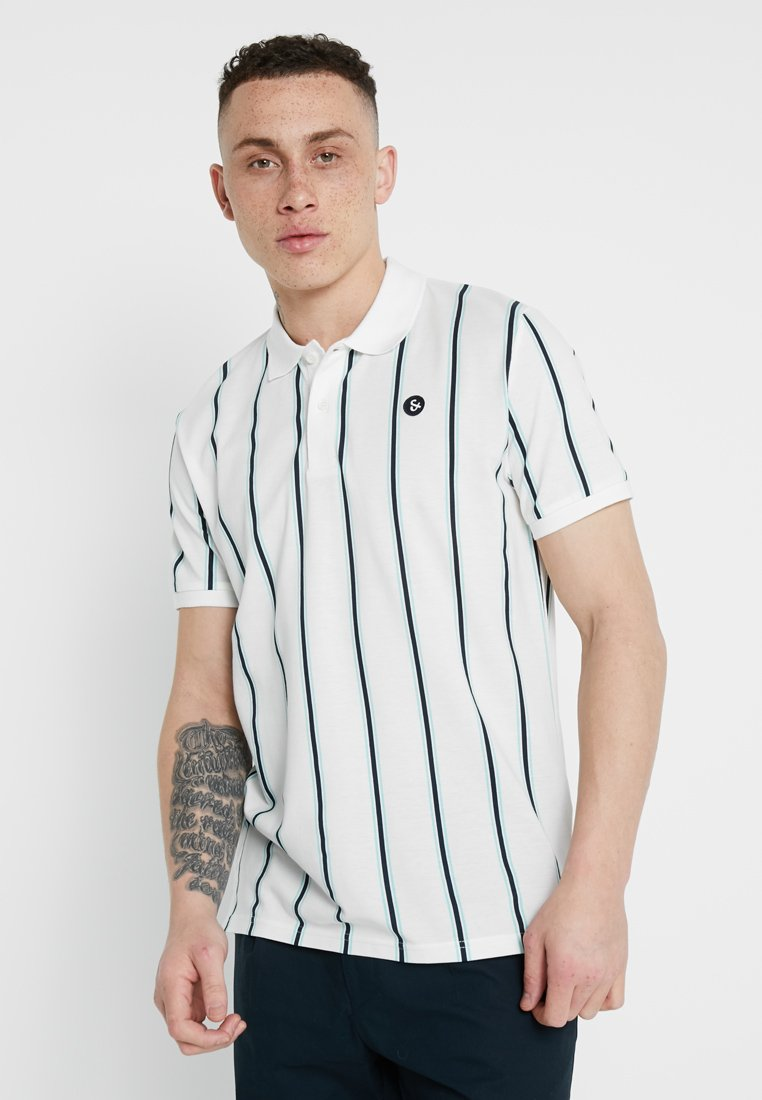 Jack & Jones - JORRETRO - Poloshirt - cloud dancer