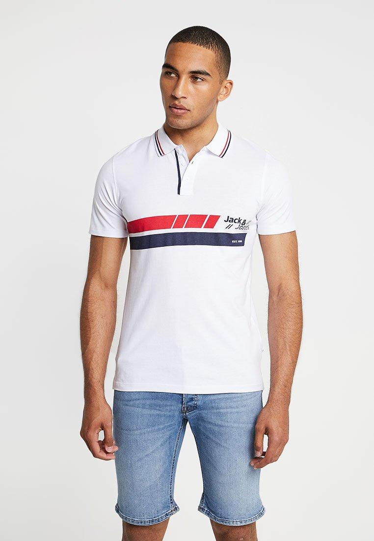 Jack & Jones - JCOTRUE SLIM FIT - Polo shirt - white
