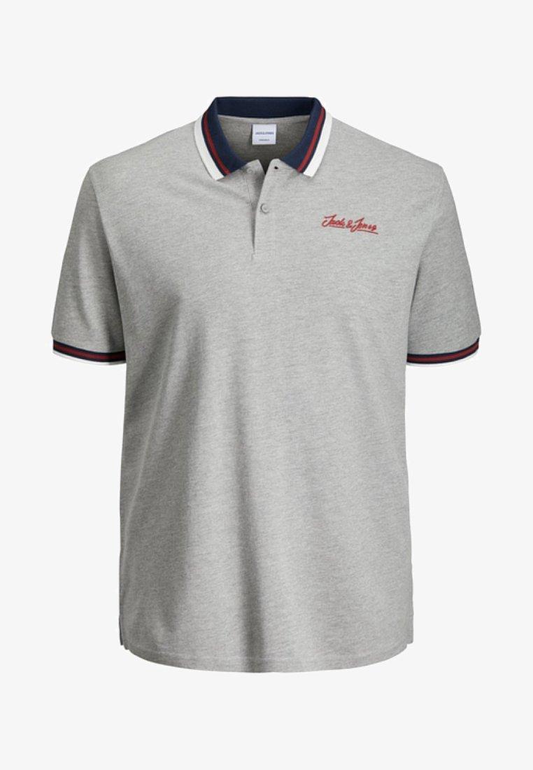 Jack & Jones - Poloshirt - light grey melange