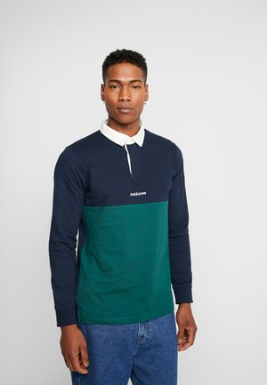 JORRUGBY POLO LONG SLEEVE - Polo - navy blazer