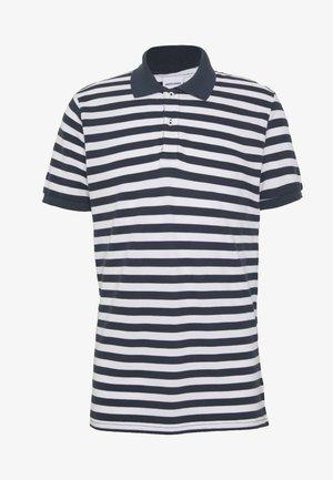 JORSTRIPED  - Polo - navy blazer