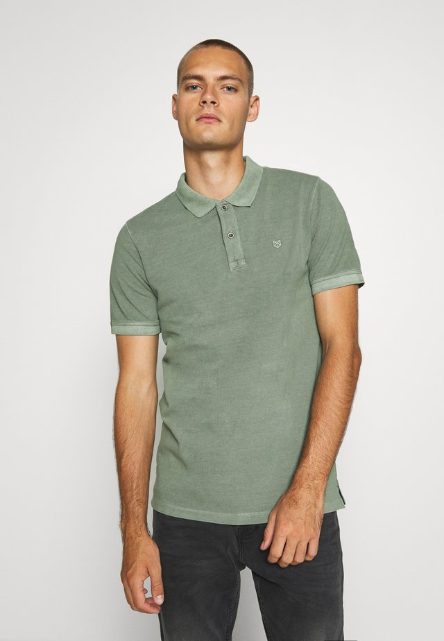 JJEJEANS  - Polo shirt - mottled teal