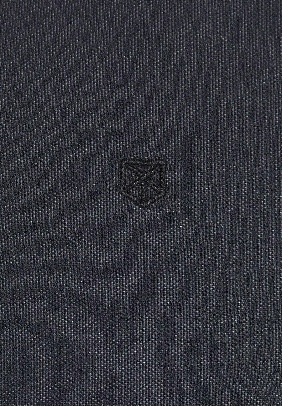 Jack & Jones PLUS SIZE POLOSHIRT AUSGEWASCHENES - Koszulka polo - black