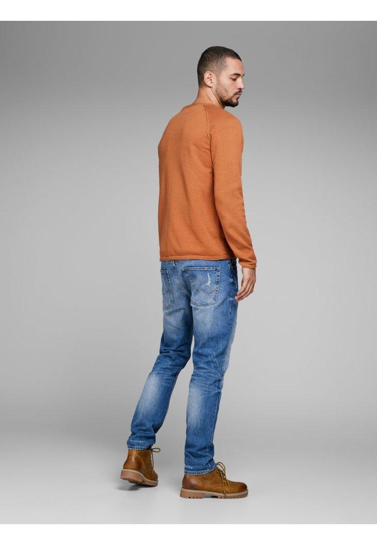Jjeunion Orange Jackamp; EssentialsPullover Neck Crew Jones YWD2IeEH9