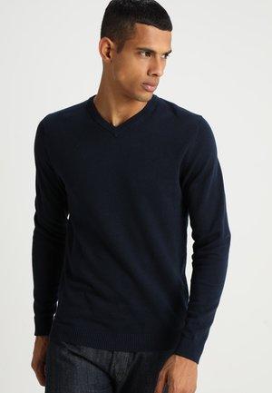 JJEBASIC  - Sweter - navy blazer